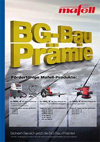 BG Bau Prämie